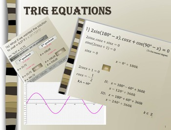 Trigonometry Equations