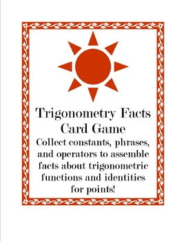 Trigonometry Facts Game
