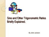 Trigonometry Functions and Origins