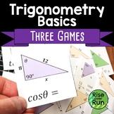 Trigonometry Games for High School Geometry