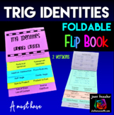 Trigonometry Identities and Formulas Flip Books  | Distance Learning