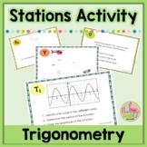 Intro to Trigonometry Stations Activity (Algebra 2 - Unit 11)