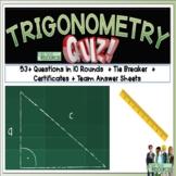 Trigonometry Math Quiz