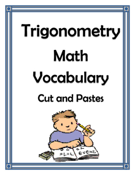 TRIGONOMETRY VOCABULARY