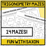 Trigonometry Mazes!