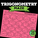 Trigonometry Maze Worksheet