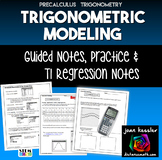 Trigonometry Modeling with Sinusoidal Regression