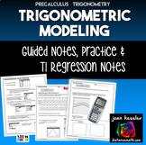 Trigonometry Modeling with Sinusoidal Regression