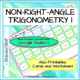 Trigonometry Non-Right Angle Sine Rule Cosine Rule Match-Up