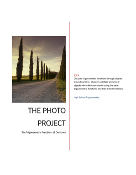 Trigonometry Photo Project