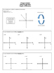 Trigonometry Playdough Mats