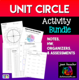 Unit Circle Activity Pack  | Distance Learning