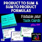 Trigonometry Product to Sum Identities