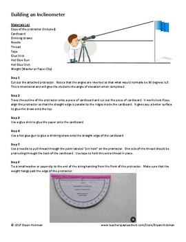 Trigonometry Project (Right Triangle Trig and the Law of Sines)
