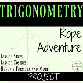 Trigonometry Project Law of Sines, Law of Cosine, Area of Non-Right Triangles
