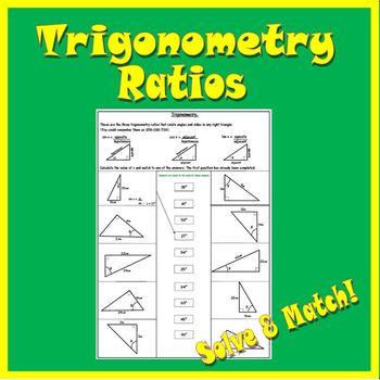 Trigonometry Ratios - SOH CAH TOA