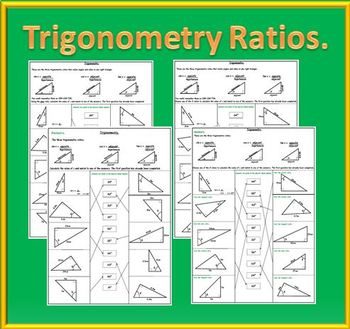 Trigonometry Ratios - SOH CAH TOA