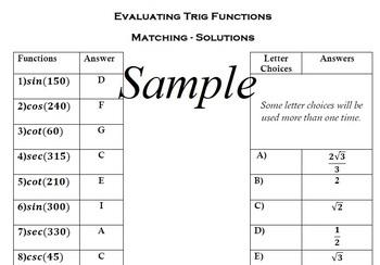Trigonometry - Ready Made Lesson