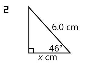 Trigonometry Review Activity - Missing Angles and Side Lengths of Triangles