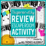 Trigonometry Review - Escape Room Activity