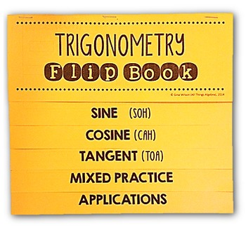 Trigonometry Flip Book