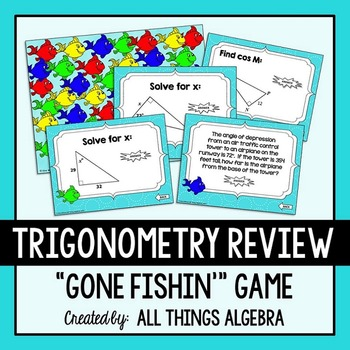 Trigonometry Gone Fishin' Game