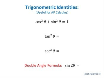Gettin' Triggy With It: Trigonometry Review for Calculus
