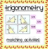 Trigonometry Matching Activities