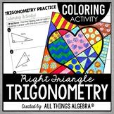 Right Triangle Trigonometry Coloring Activity