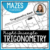 Right Triangle Trigonometry (SOH CAH TOA) Mazes