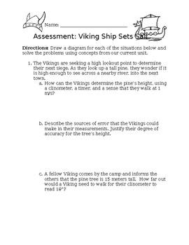 Trigonometry Sailing Application/Assessment