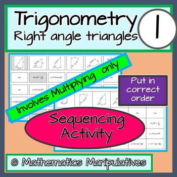 Trigonometry Sequencing Activity