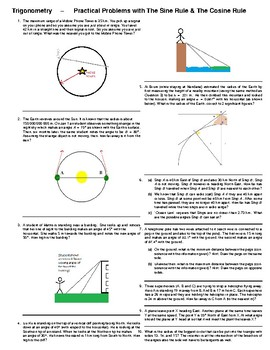 Trigonometry – Sine Rule & Cosine Rule