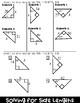 Trigonometry Solving for Side Length Foldable