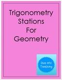 Trigonometry Stations