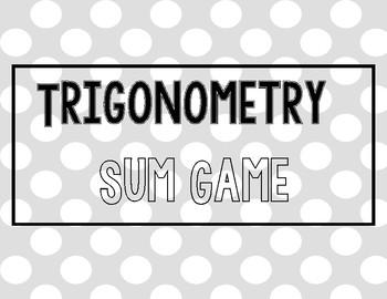 Trigonometry Sum Game