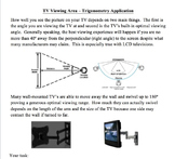 Trigonometry TV Viewing Application Activity