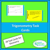 Trigonometry Task Cards for Geometry