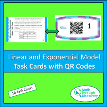 Trigonometry Task Cards with QR Codes