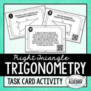Trigonometry Task Cards