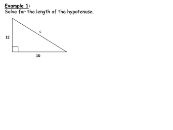 Trigonometry Teacher Powerpoint Notes