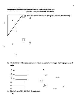 Trigonometry Test