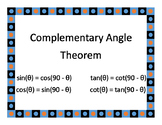 Trigonometry Theorem Posters