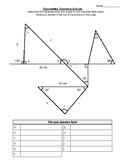 Trigonometry: Triangles & Sine Law Puzzle