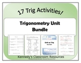 Trigonometry Unit - Bundle of Resources!