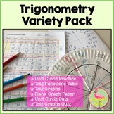 Trigonometry Variety Pack (PreCalculus - Unit 4)