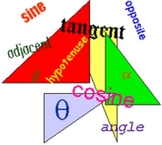 Trigonometry Worksheet (Sin, Cos, Tan)