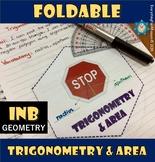 Trigonometry and Areas Foldable
