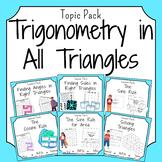 Trigonometry in All Triangles Bundle