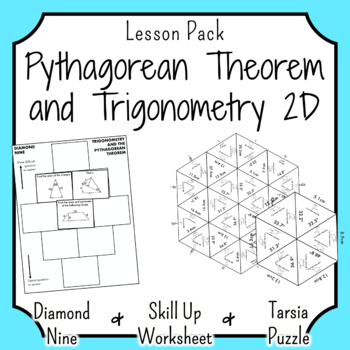 Trigonometry in Right Angled Triangles Puzzle